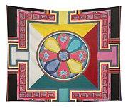 Tibetan Mandala Tapestry
