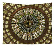 Tiffany Dome Chicago Cultural Museum Tapestry