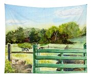 Tiffany Farms East Gate Tapestry