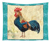 Tiffany Rooster 2 Tapestry