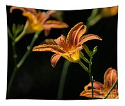 Tiger Lilies Tapestry