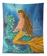 Tiger Lily Tails Tapestry