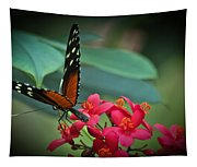 Tiger Longwing Butterfly Tapestry