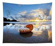 Tiger Nautilus Sunrise Tapestry