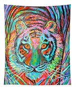 Tiger Stare Tapestry
