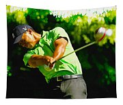 Tiger Woods - Wgc- Cadillac Championship Tapestry