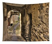 Tight Stone Alley Tapestry