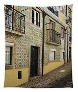 Tile Walls Of Lisbon Tapestry