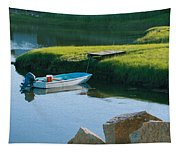 Time For Fishing Tapestry