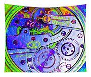 Time In Abstract 20130605m36 Square Tapestry