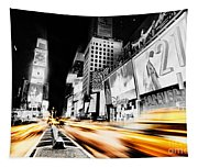 Time Lapse Square Tapestry