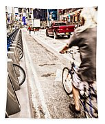 Times Square Ride Tapestry