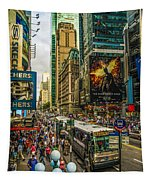 Times Square Tapestry