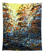 Tim's Autumn Trees Tapestry