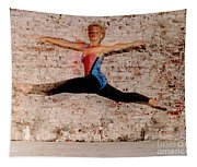 Shelly Ballet Jump Tapestry