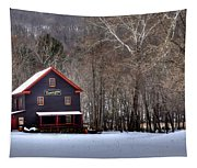 Tinglers Mill Paint Bank Tapestry