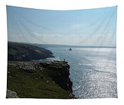 Man On The Edge Tintagel Tapestry