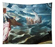 Tintoretto's Christ At The Sea Of Galilee Tapestry