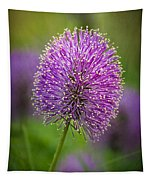 Tiny Purple Wildflower II Tapestry