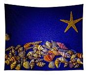 Tiny Sea Shells Tapestry