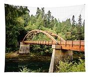 Tioga Bridge Over North Umpqua River Tapestry