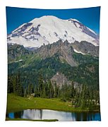 Tipsoo Moonset Tapestry