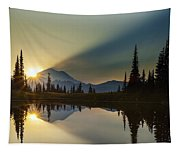 Tipsoo Rainier Sunstar Tapestry