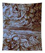 Titan In Desert Tapestry