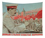 To Our Dear Stalin Tapestry