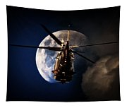 To The Moon Tapestry