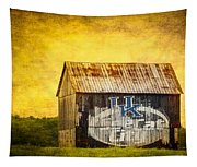 Tobacco Barn In Kentucky Tapestry
