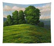 Toboggan Hill Tapestry