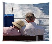 Together In Greece Tapestry