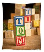 Tom - Alphabet Blocks Tapestry