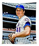 Tom Seaver Tapestry