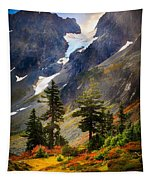 Top Of Cascade Pass Tapestry