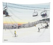 Top Of The Mountain At Seven Springs Tapestry