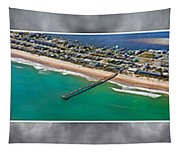 Topsail Island Aerial Panels II Tapestry