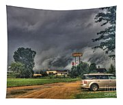 Tornado Over Madison 3 Tapestry
