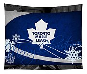 Toronto Maple Leafs Christmas Tapestry