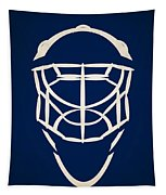 Toronto Maple Leafs Goalie Mask Tapestry