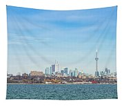 Toronto Skylines At The Waterfront Tapestry