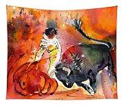 Bullfighting The Reds Tapestry