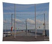 Torquay Pier Devon Tapestry