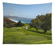 Torrey Pines Golf Course North 6th Hole Tapestry