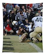 Touchdown Navy Tapestry