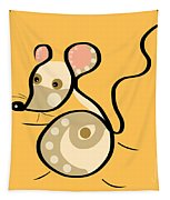 Thoughts And Colors Series Mouse Tapestry