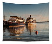 Tour Boats Lake Geneva Wi Tapestry