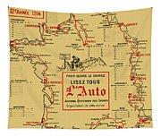 Tour De France 1914 Tapestry
