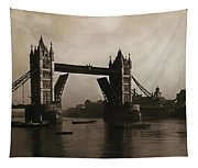 Tower Bridge London 1906 Tapestry